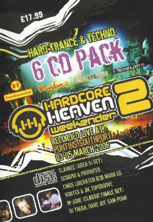 Hardcore Heaven - Weekender 2 - 2006 - Hard Trance / Techno Pack
